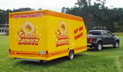 Mini Donuts Trailer